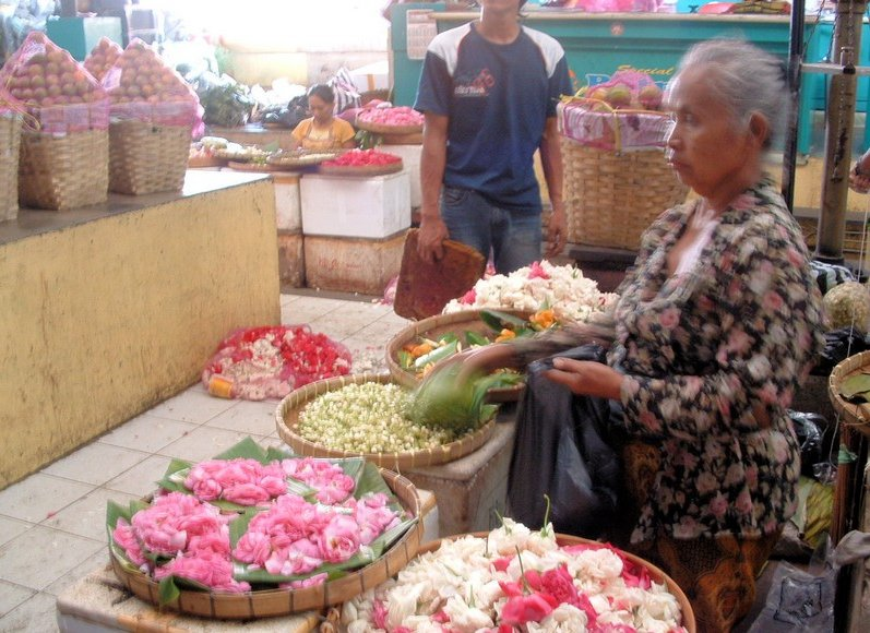 The market in Solo Surakarta Indonesia Travel