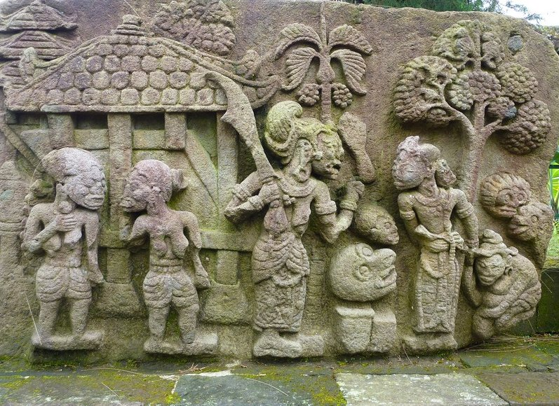 Candi Sukuh Indonesia Mt Lawu Vacation Diary