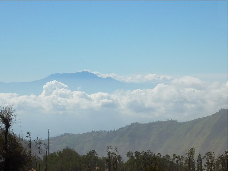 Via Sarangang to Mount Bromo Mt Bromo Indonesia Picture gallery
