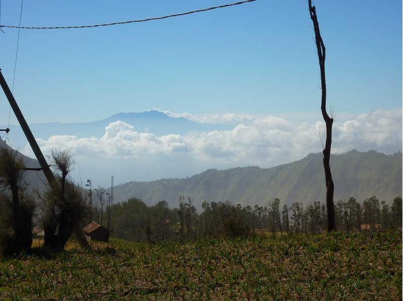 Photo Via Sarangang to Mount Bromo getting