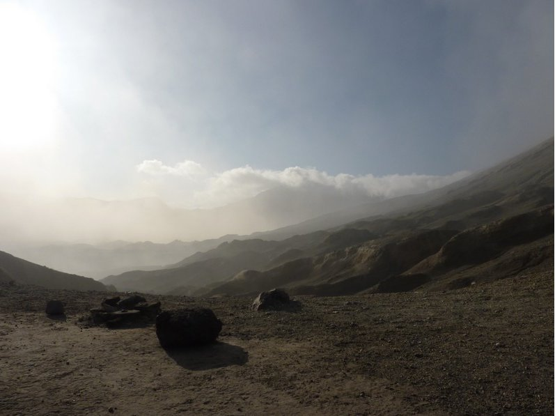 Photo Via Sarangang to Mount Bromo volcano