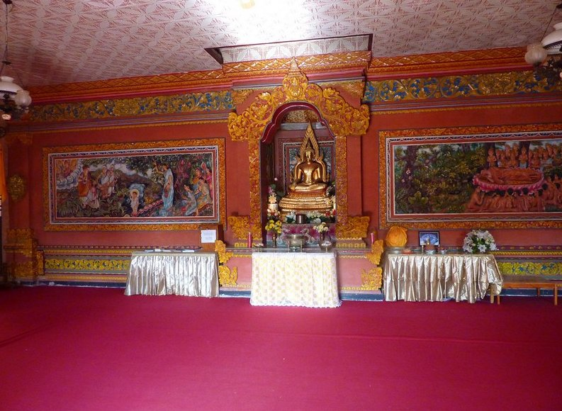 Photo Banjar Buddhist monastery northwestern