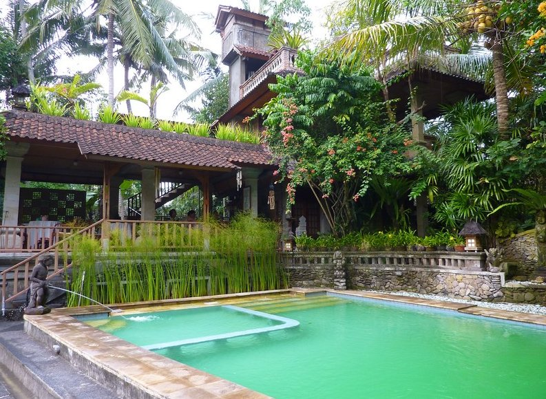 Photo Best hotel in Ubud Bali located