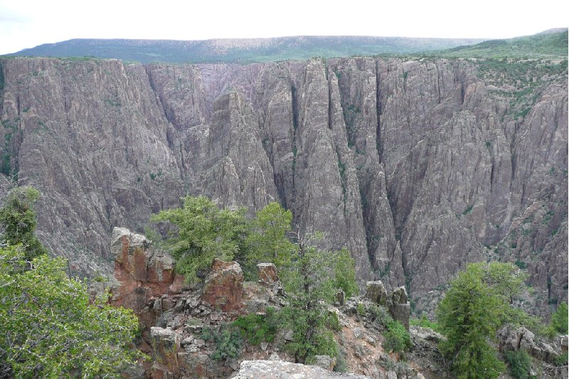 Black Canyon of the Gunnison Park Montrose United States Travel Album