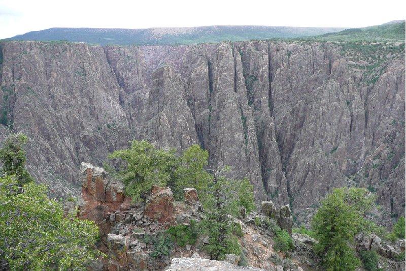Black Canyon of the Gunnison Park Montrose United States Travel Album
