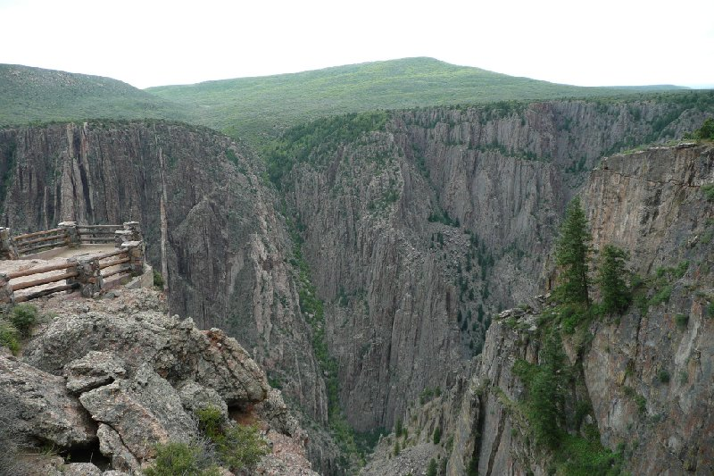 Black Canyon of the Gunnison Park Montrose United States Blog Photo