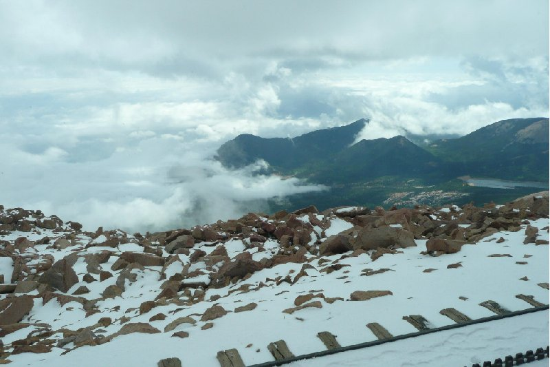 Photo Manitou Springs Pikes Peak Climbing