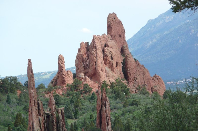 Garden of the Gods Colorado Springs United States Blog Experience