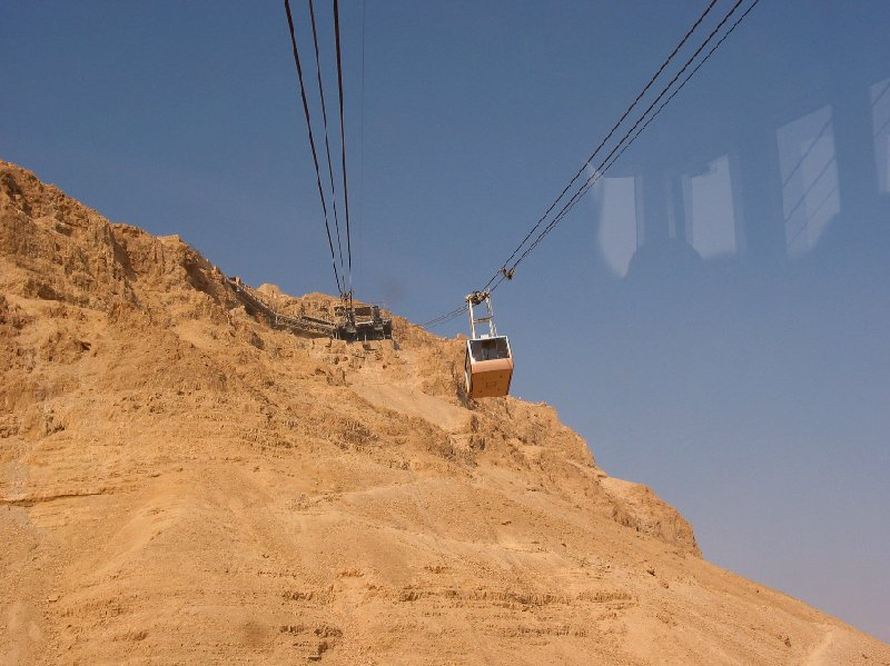 Masada Israel cable car Mezada Travel Guide