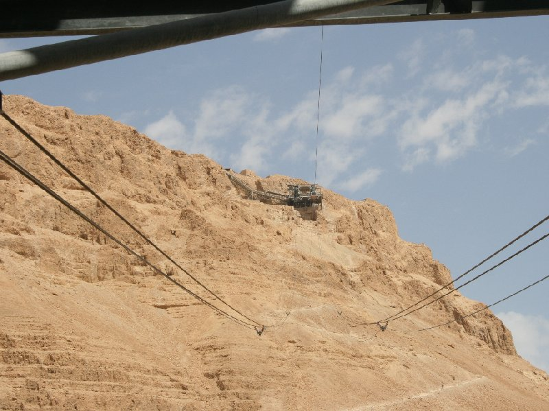 Masada Israel cable car Mezada Vacation Sharing