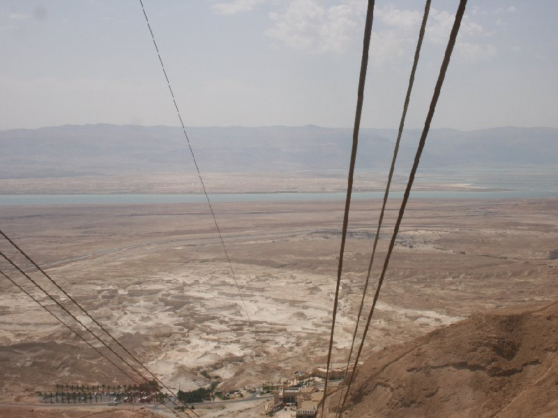 Masada Israel cable car Mezada Travel Gallery