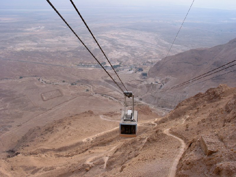 Masada Israel cable car Mezada Travel Information