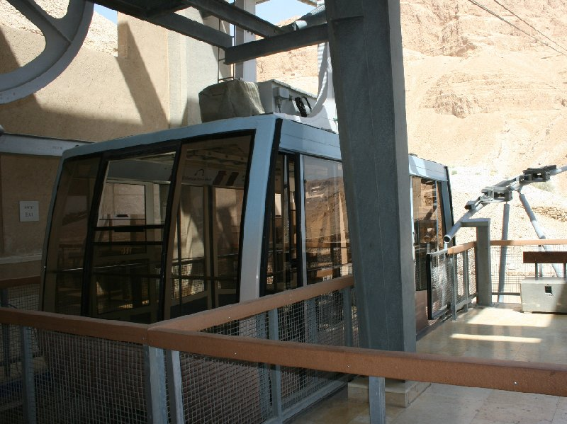 Masada Israel cable car Mezada Story Sharing