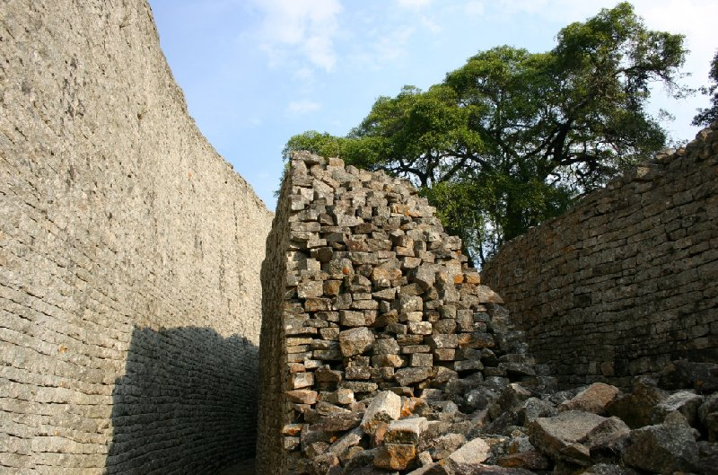 Photo Great Zimbabwe ruins proximity