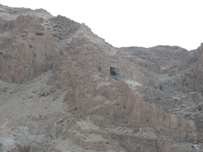 Photo Qumran Caves Israel further