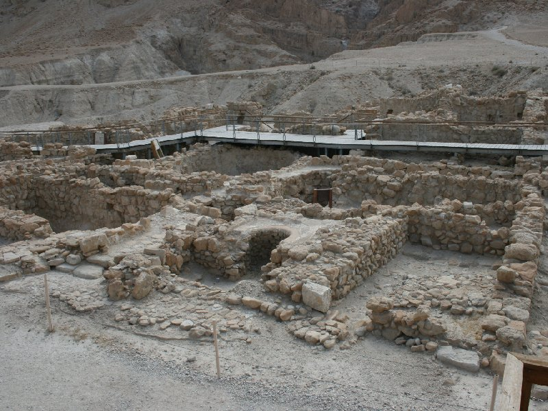 Photo Qumran Caves Israel stayed