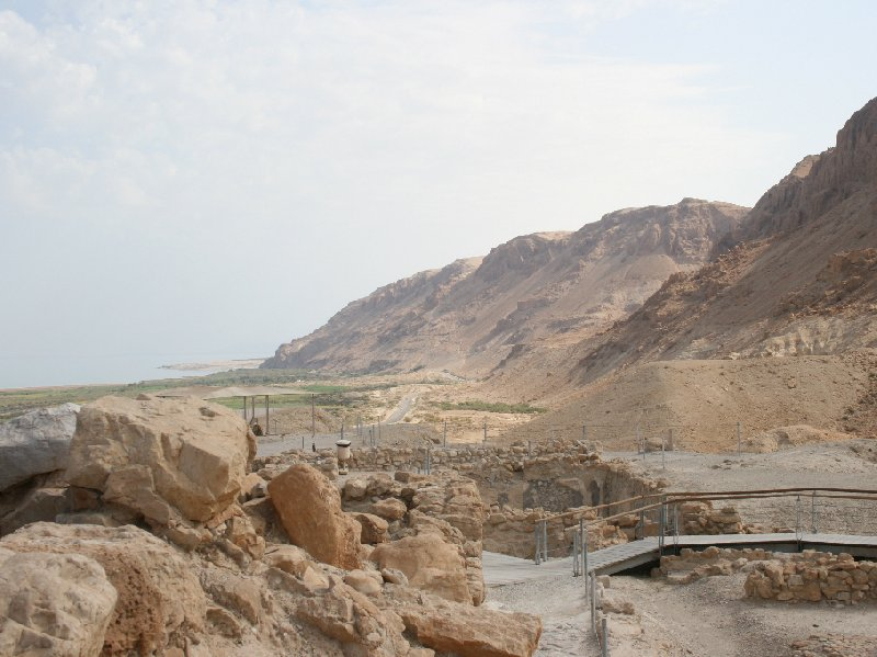 Photo Qumran Caves Israel touring