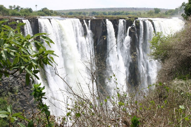Photo Victoria Falls Zimbabwe pictures border