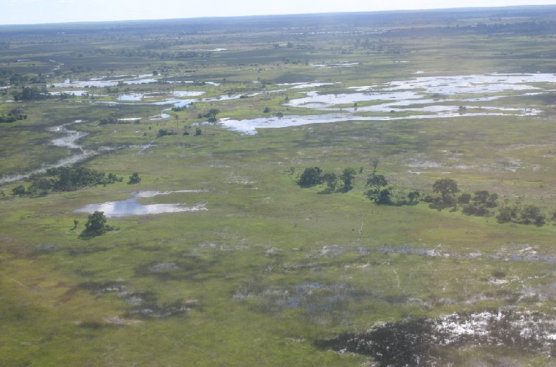 Photo Okavango Delta safari tour through