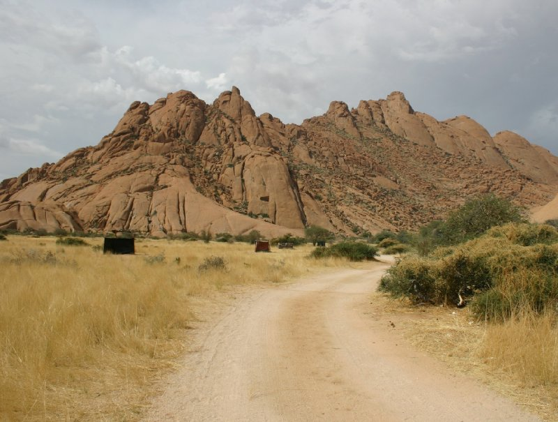 Spitzkoppe Mountains Namibia Usakos Travel Pictures