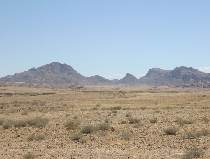Spitzkoppe Mountains Namibia Usakos Trip Photo