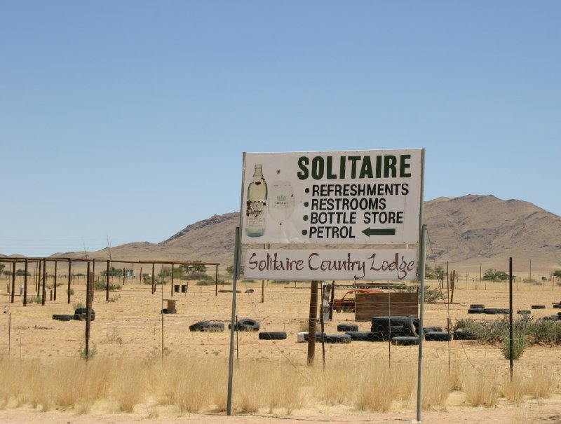 Solitaire Sossusvlei desert camp Namibia Review Photo