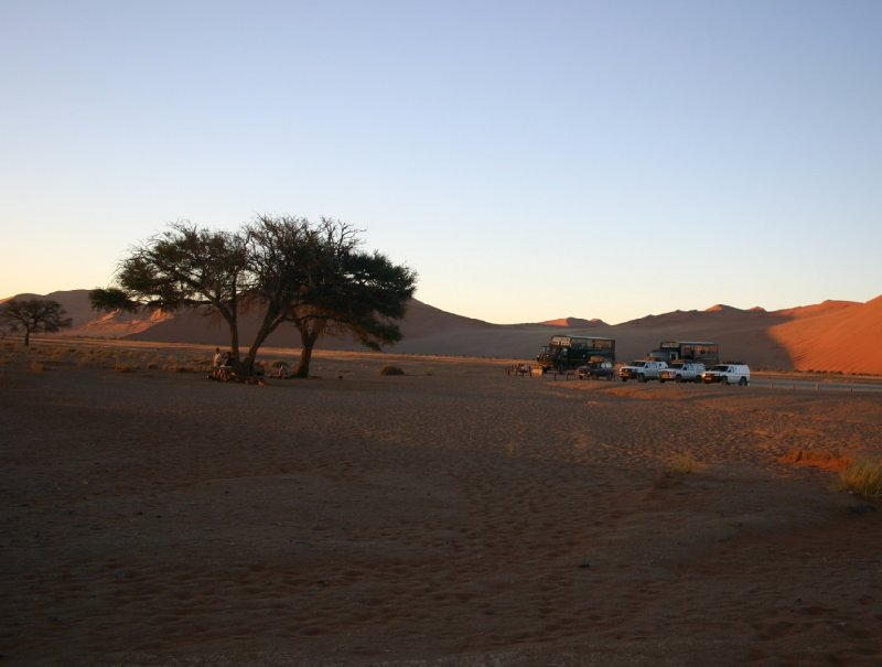 Photo Solitaire Sossusvlei desert camp Naukluft