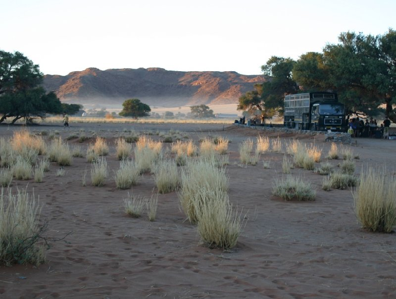 Photo Solitaire Sossusvlei desert camp National