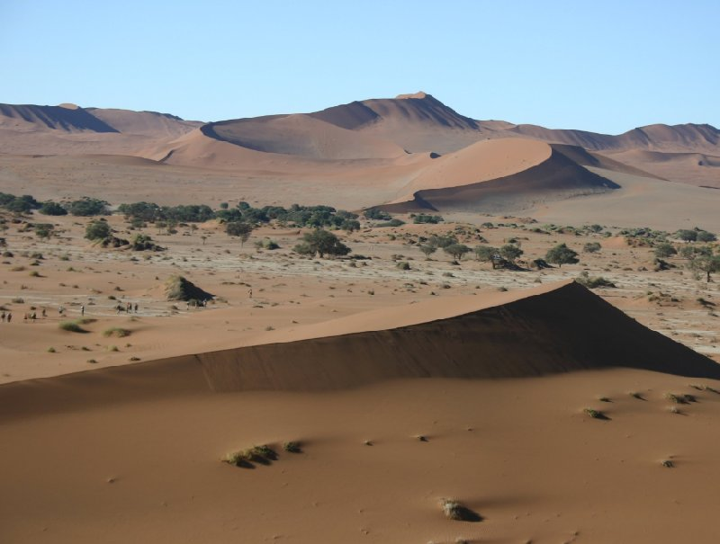 Photo Solitaire Sossusvlei desert camp reserve