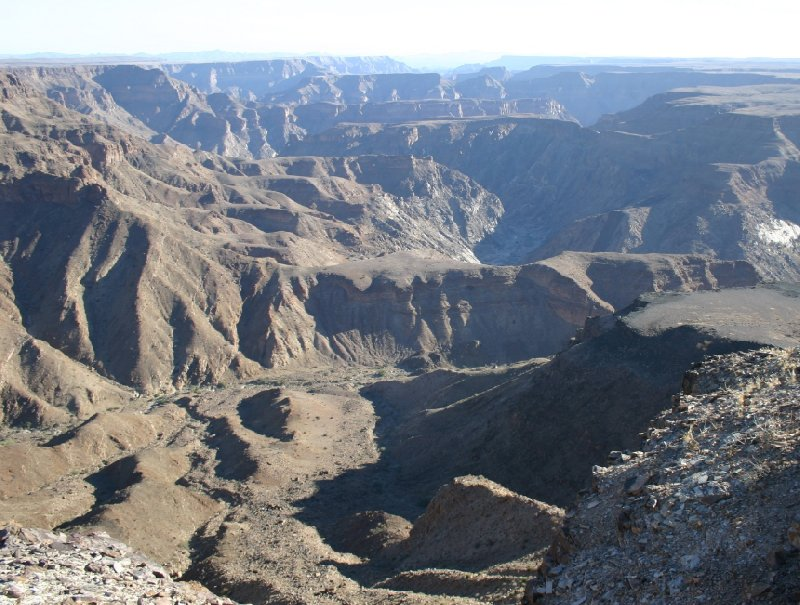 Fish River Canyon Namibia Ai-Ais Vacation Adventure