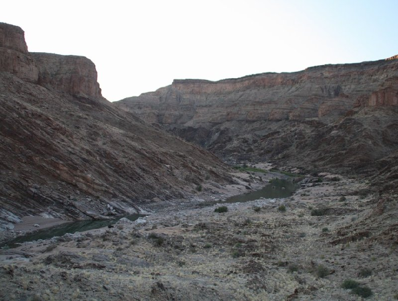 Photo Fish River Canyon Namibia places