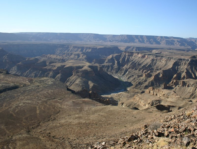 Fish River Canyon Namibia Ai-Ais Travel Blog