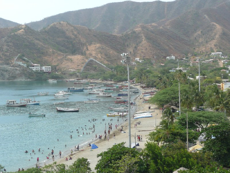 Taganga Colombia Travel Sharing