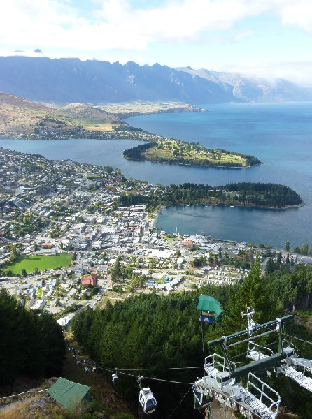Queenstown New Zealand Skyline Gondola Photography