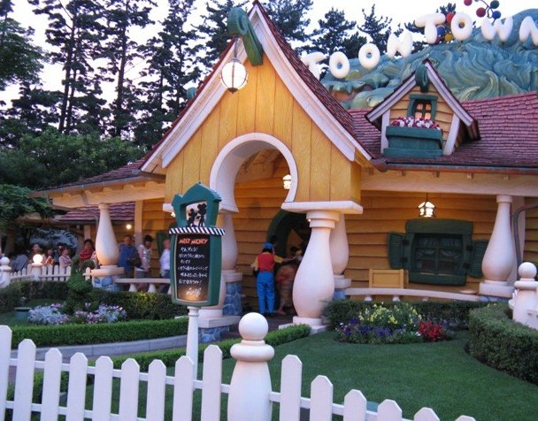 Photo Tokyo Disneyland photos families