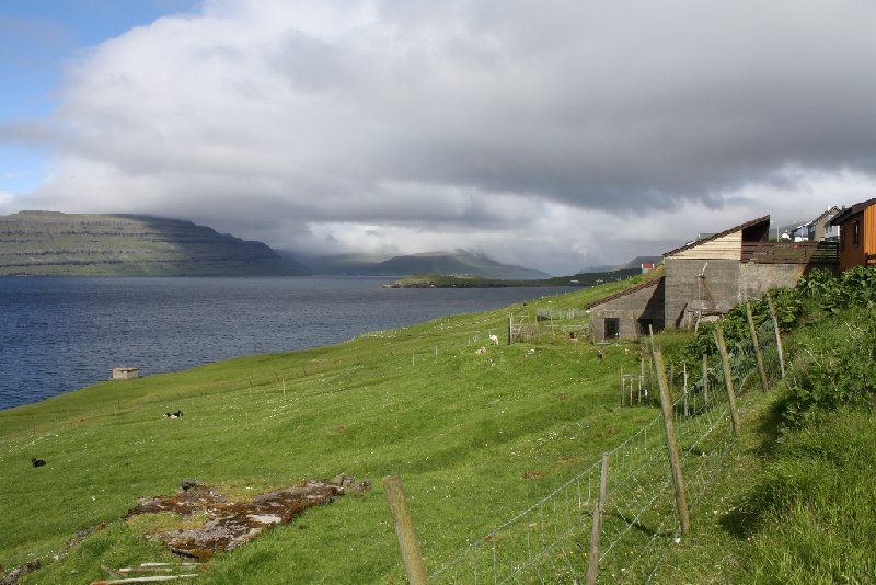 Saksun Faroe Islands Diary Picture