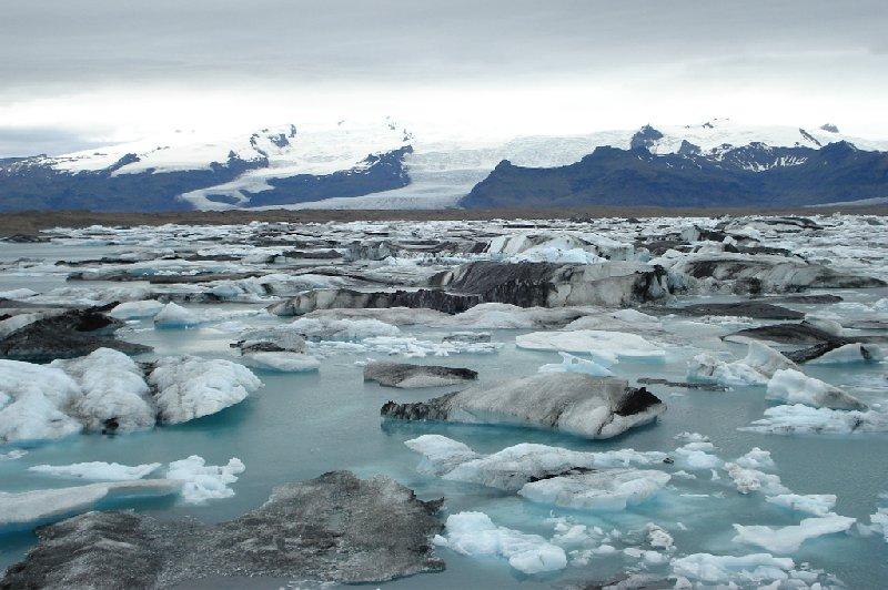 Jökulsárlón Glacial Lagoon Iceland Picture