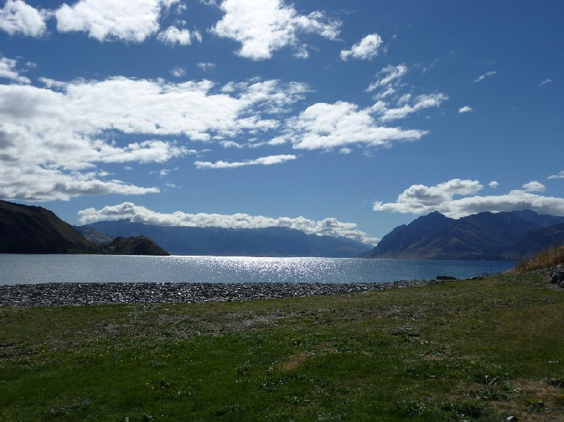 Photo Lake Hawea New Zealand Because