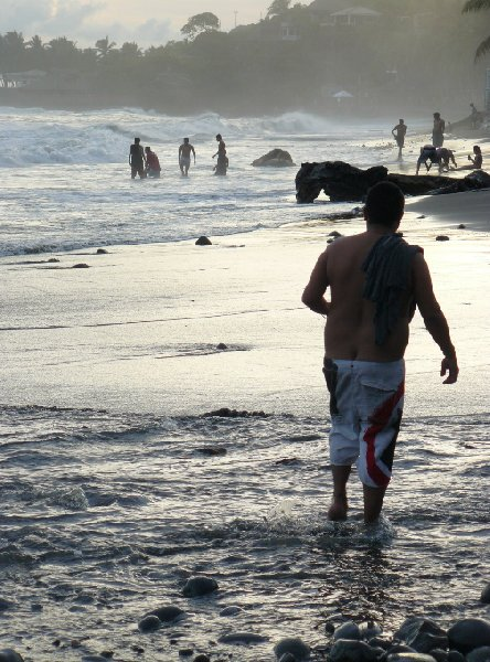 Photo Playa El Tunco El Salvador volunteering