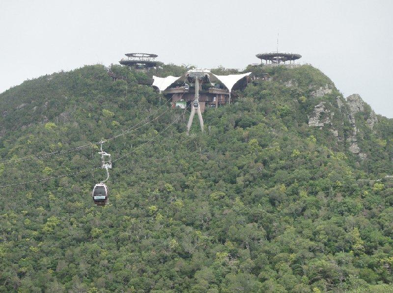 Lankawi Sky Bridge Malaysia Langkawi Travel