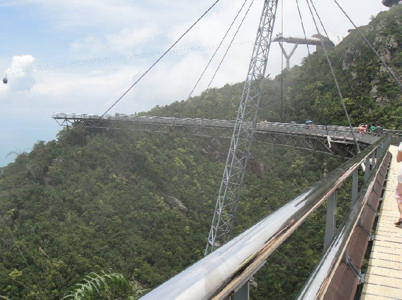 Lankawi Sky Bridge Malaysia Langkawi Trip Photo