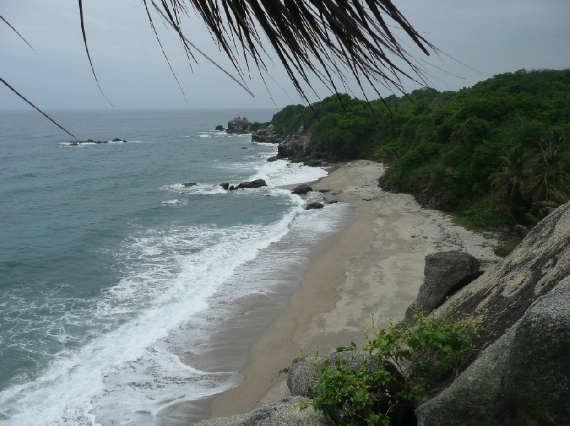 Beach Hotel Colombia Tayrona Travel Picture