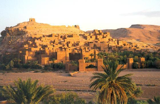 Ait Benhadou Kasbahs, Merzouga Morocco