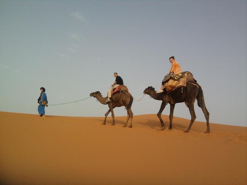 Merzouga Morocco Camel Trek Merzouga dunes