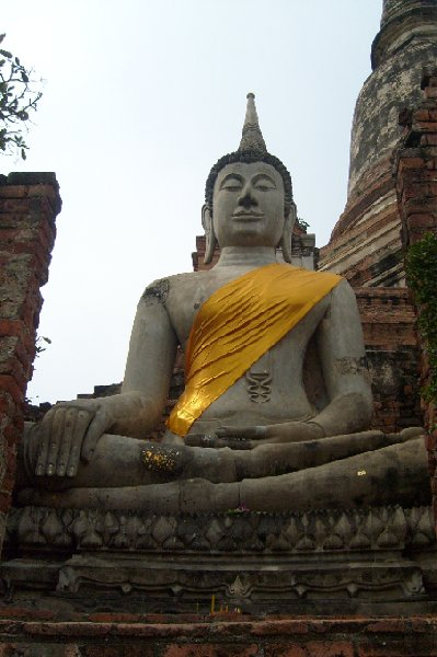 Photo Ayutthaya tour Thailand showed