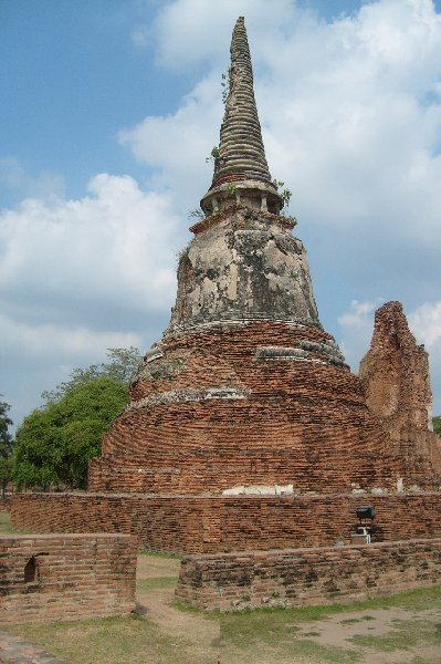 Photo Ayutthaya tour Thailand husband