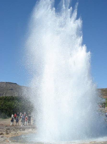 Photo Strokkur Iceland tour Geyser