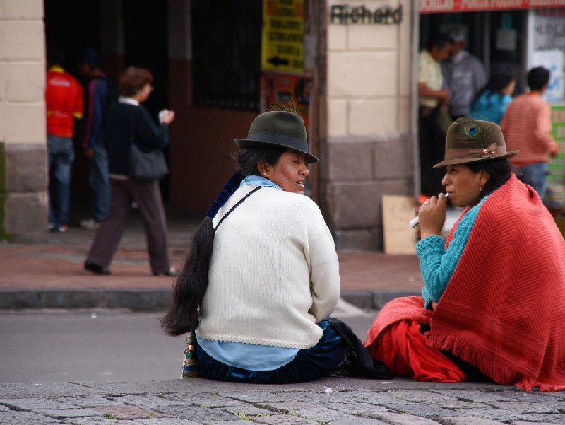 Quito Ecuador Travel Album