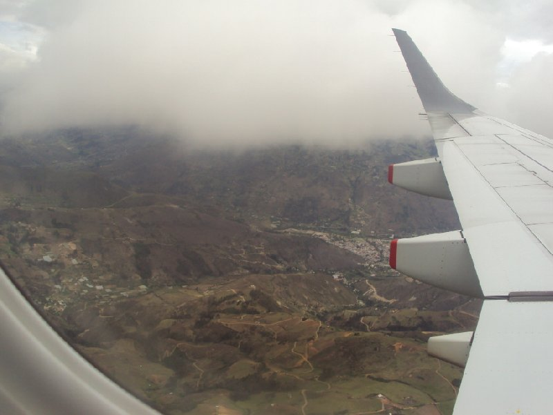Photo Flight Quito Ecuador something