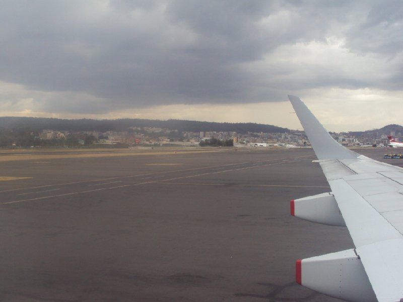 Photo Flight Quito Ecuador really